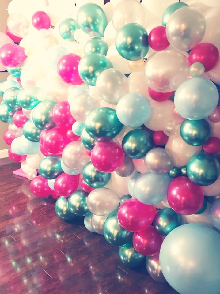 Organic Balloon Wall | Balloon Wal | Organic Balloons