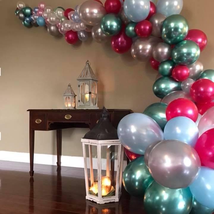 Organic Balloon Arch | Chrom Balloons | Balloons