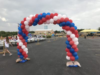 Balloon Arch Fourth of July | Balloons and Arches