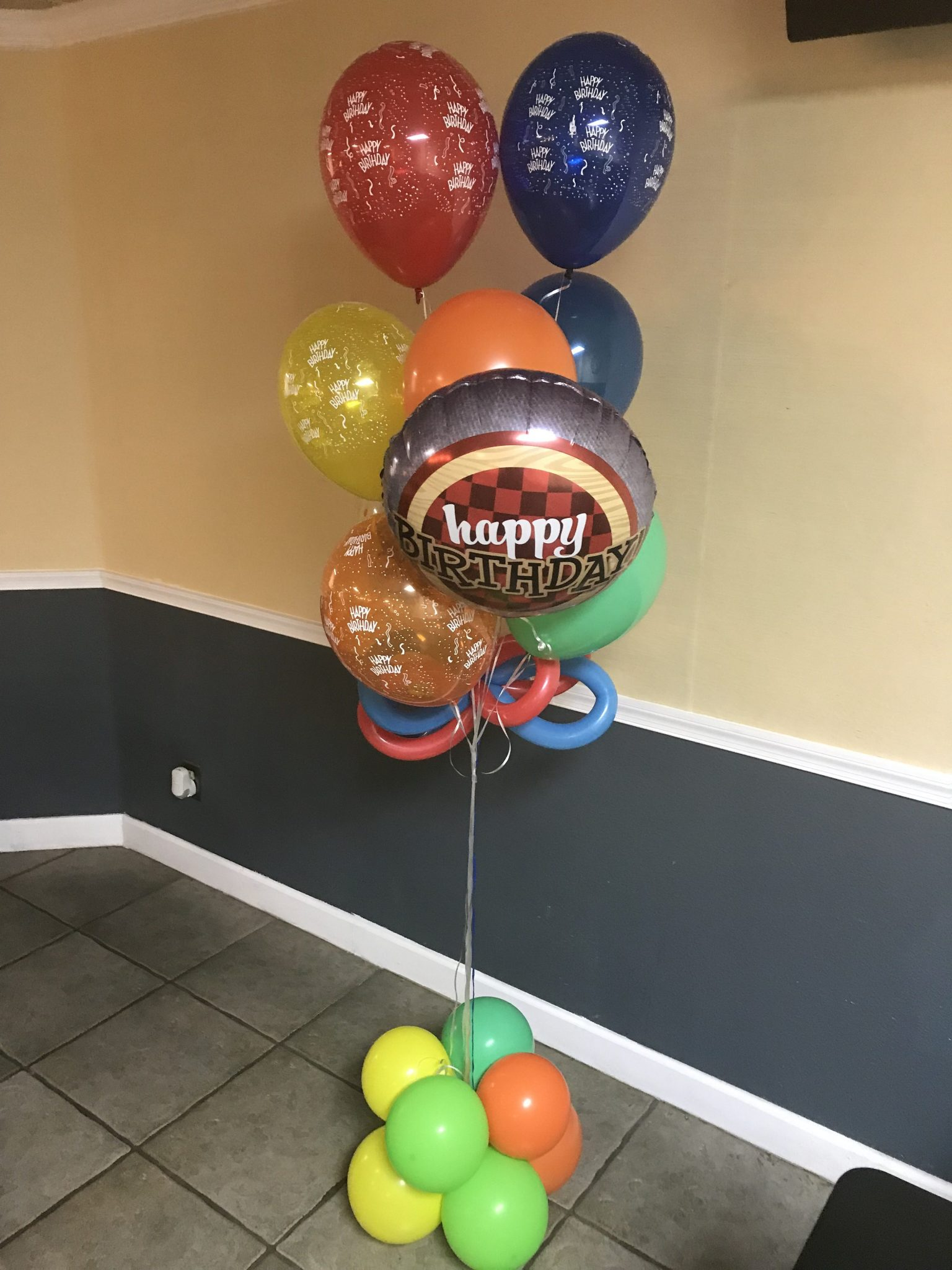 Balloon Birthday Bouquet | Birthday Balloons | Balloons
