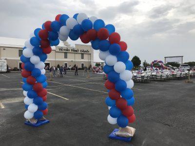 Balloon Swirl Arch