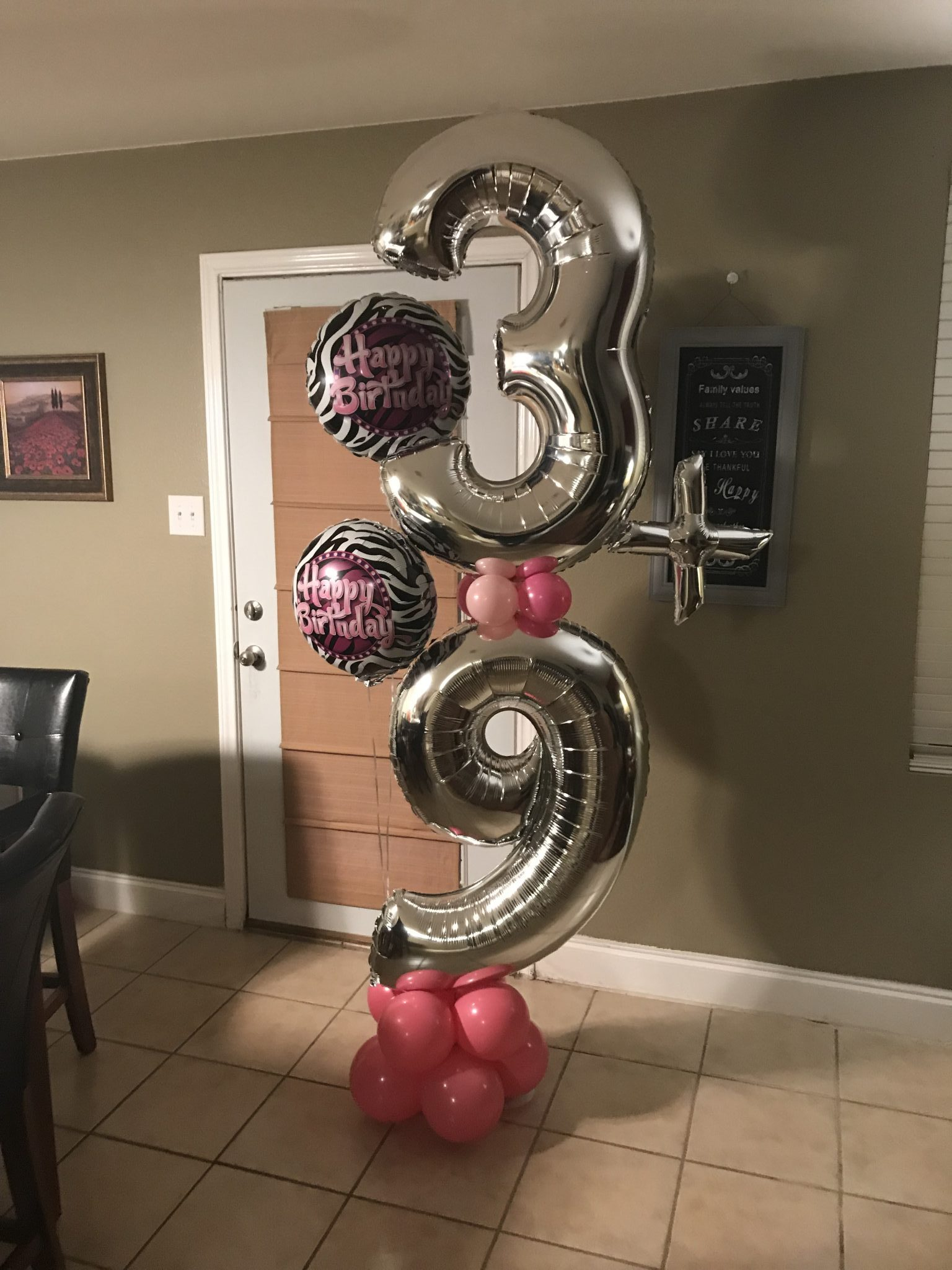 Birthday Number Column