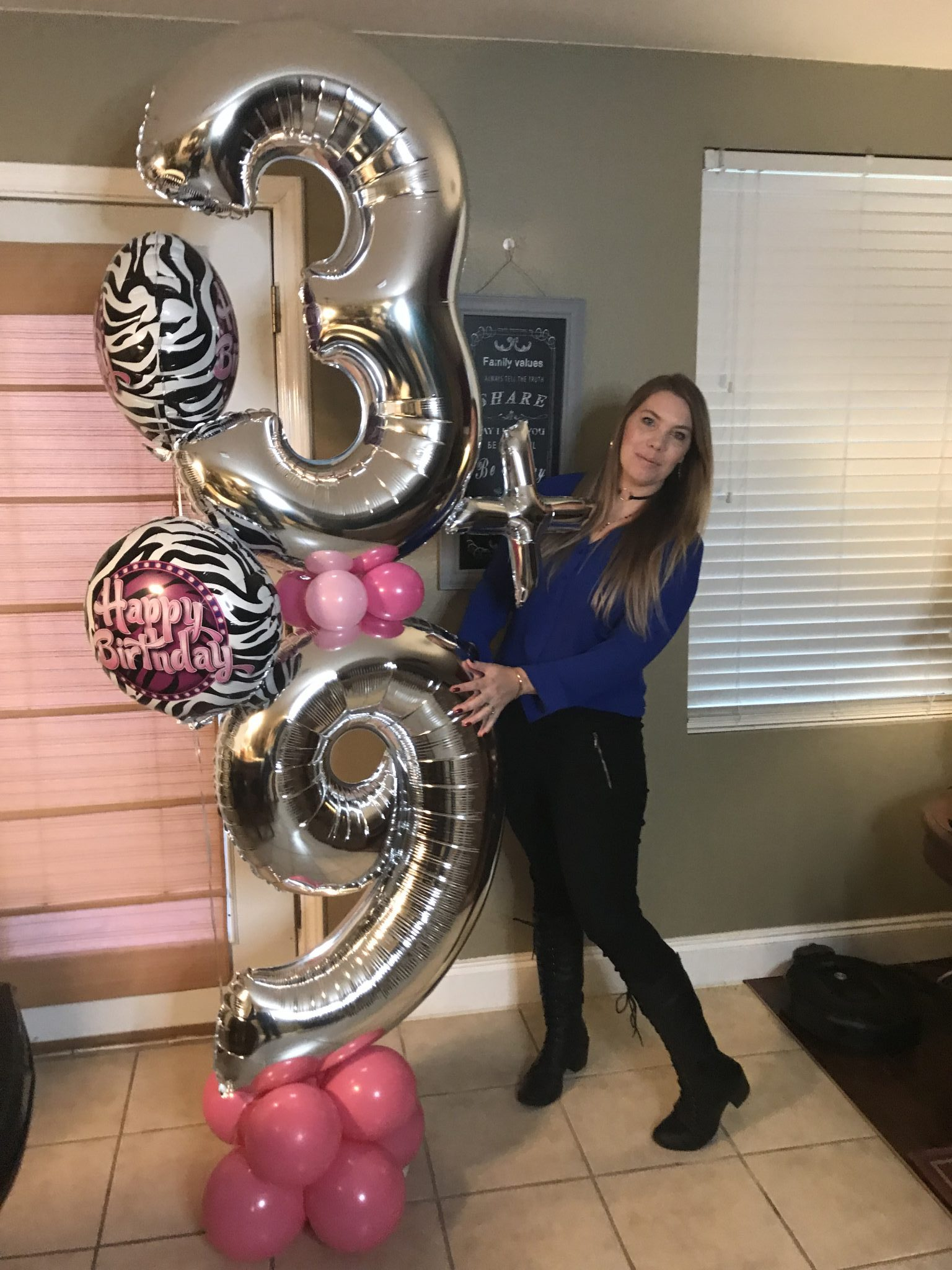 Full Sized Balloon Birthday Decor