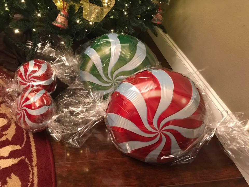 Balloons | Candy Balloons | Christmas Balloons
