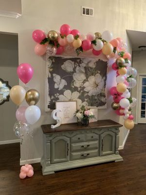 First Birthday Balloon Garland