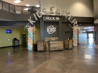 Balloon Letter Arch