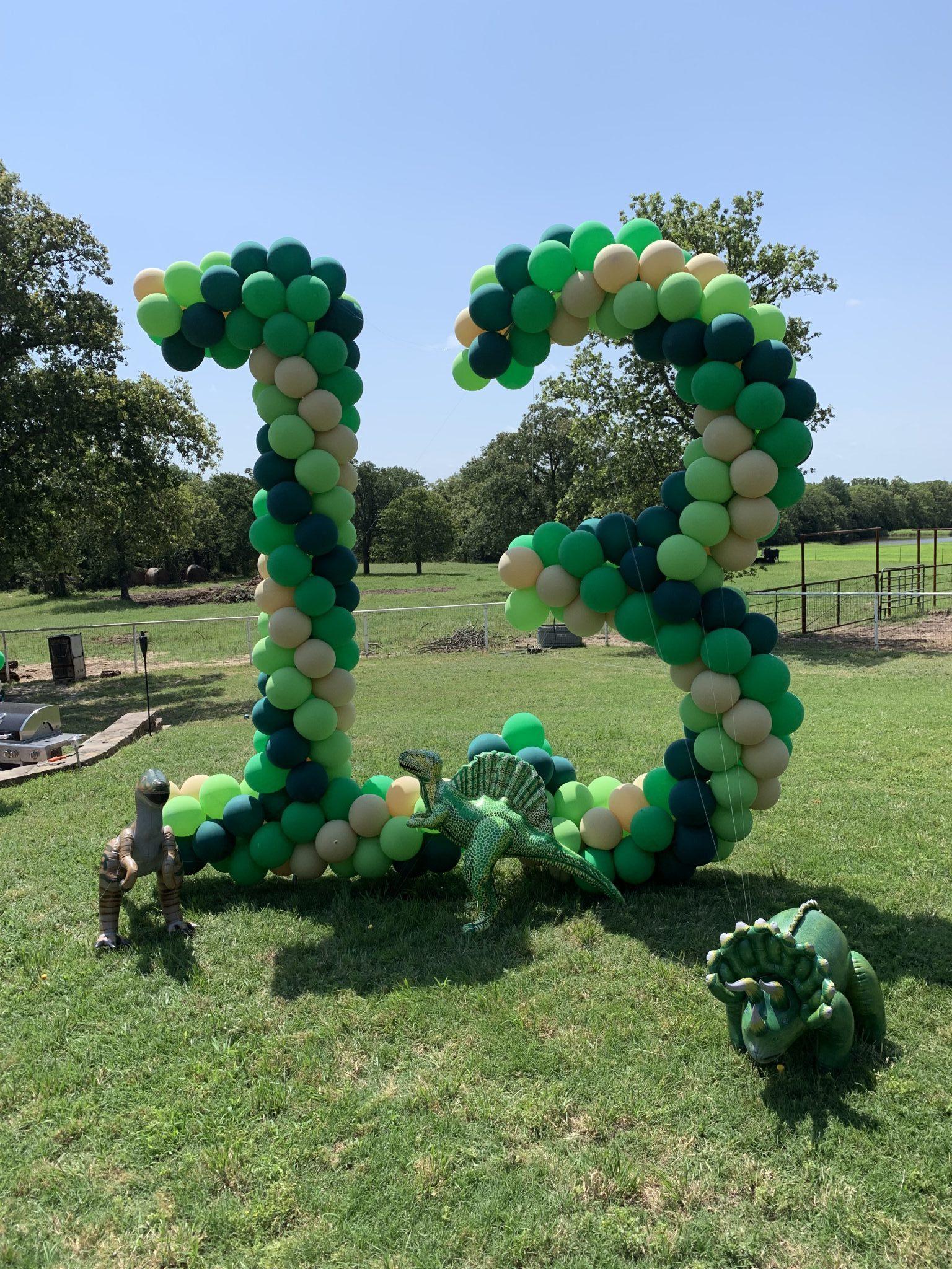 Balloon Yard Number