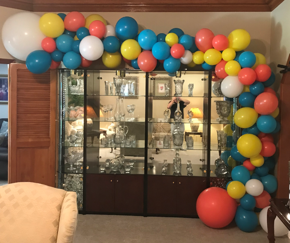 Organic Balloon Arch | Balloons | Organic Balloons near me