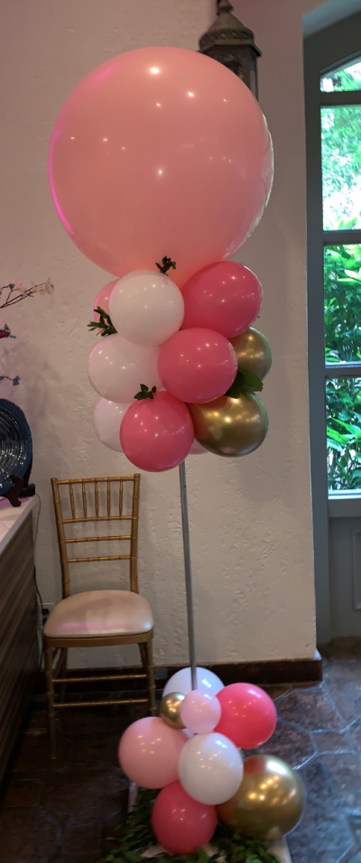 Balloon Attention Getter | Organic Balloons | Balloon Columns