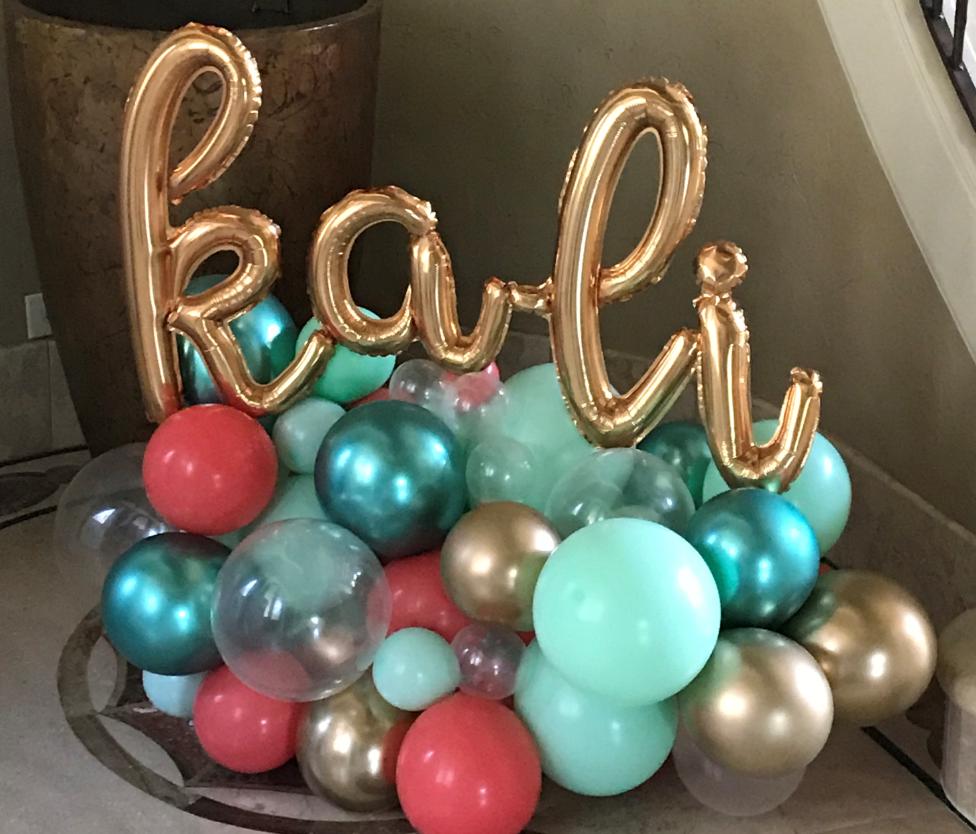 Centerpiece | Organic Balloons