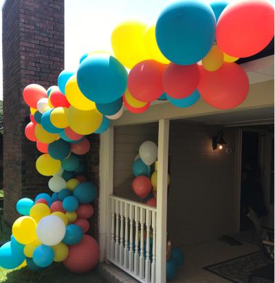 Organic Balloon Garland | Organic Balloons